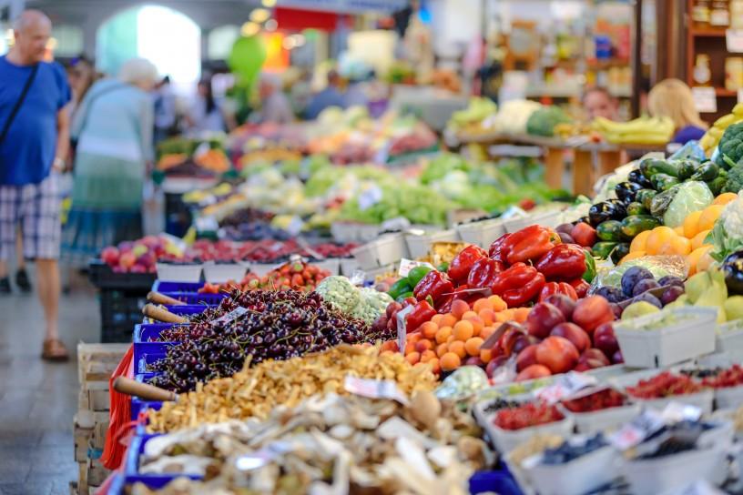 voće i povrće tržnica